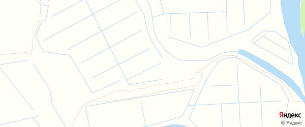 Карта промышленной зоны Промузел на ТЭЦ-2 в Астраханской области с улицами и номерами домов