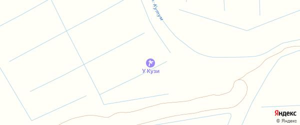 Улица Баренцова на карте поселка Кирпичного Завода N1 с номерами домов