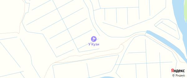 СТ Заря на карте поселка Кирпичного Завода N1 с номерами домов