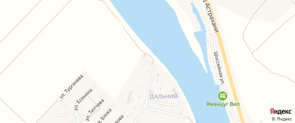 Костромская улица на карте села Началово с номерами домов
