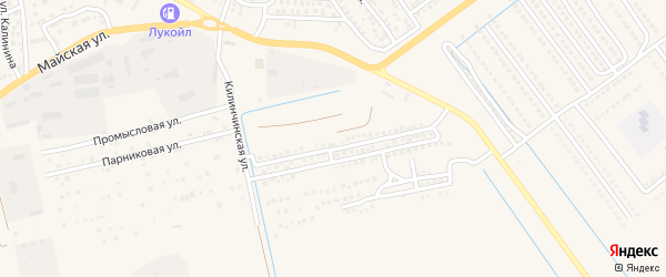 Южный микрорайон на карте села Началово с номерами домов