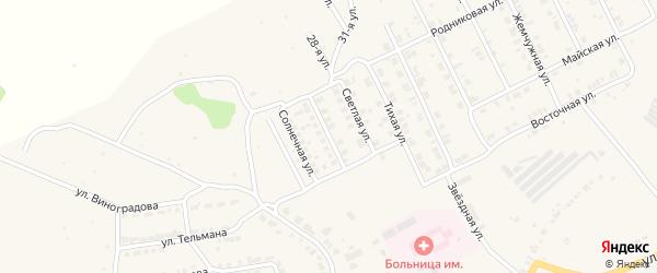 Улица 60 лет ККАФ на карте Козловки с номерами домов