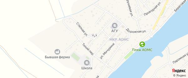 Полевая улица на карте поселка Начала с номерами домов