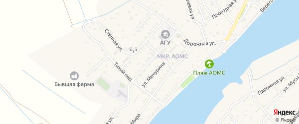 Советская улица на карте поселка Начала с номерами домов