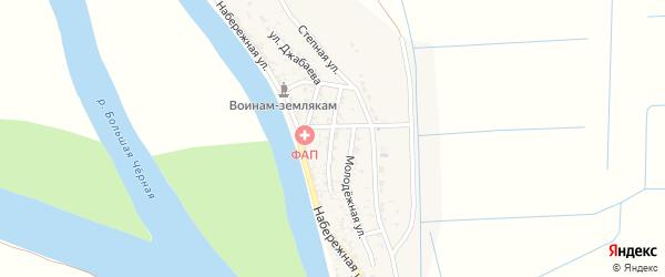 Улица Гагарина на карте села Бирючек с номерами домов
