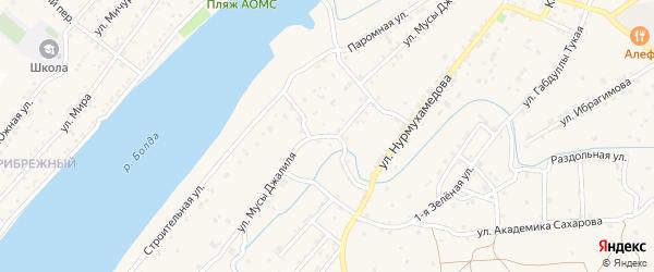 Паромная улица на карте села Килинчи с номерами домов