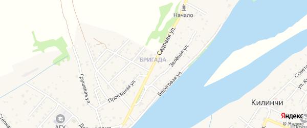 Садовая улица на карте поселка Начала с номерами домов