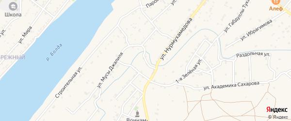 Еричная улица на карте села Килинчи с номерами домов