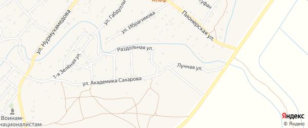 Мостовая улица на карте села Килинчи с номерами домов