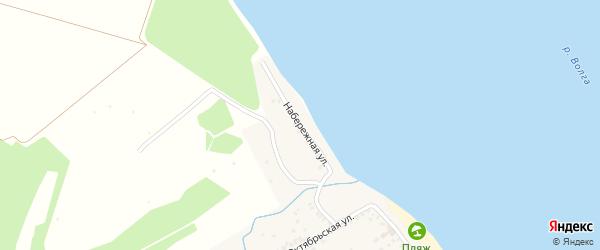 Набережная улица на карте Козловки с номерами домов
