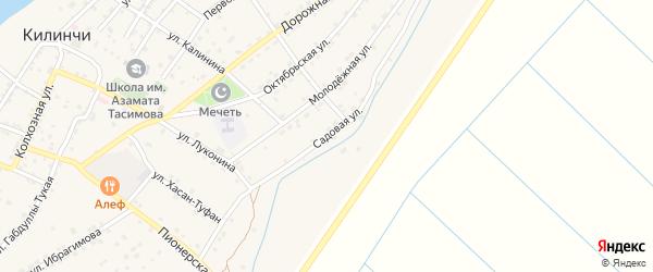 Садовая улица на карте села Килинчи с номерами домов