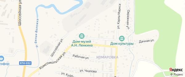Улица Ленкина на карте Козловки с номерами домов