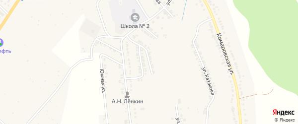 Фестивальная улица на карте Козловки с номерами домов