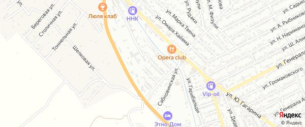 Аграрная улица на карте Дербента с номерами домов
