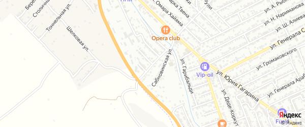 Улица Аваин-Булаг на карте Дербента с номерами домов