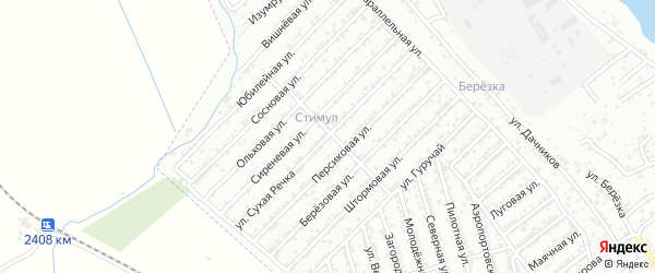Улица Сухая Речка на карте Дербента с номерами домов