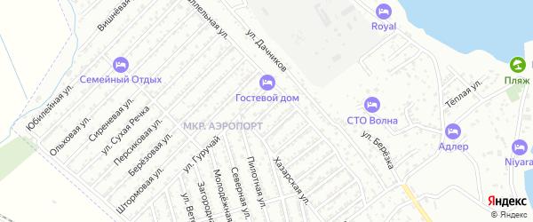 Огородная улица на карте Дербента с номерами домов