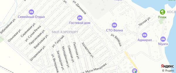 Яблочная улица на карте Дербента с номерами домов