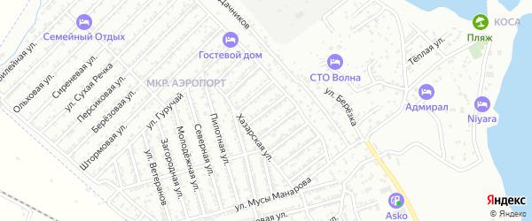 Луговая улица на карте Дербента с номерами домов