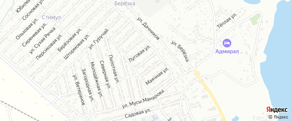 Улица Арендаторов на карте Дербента с номерами домов