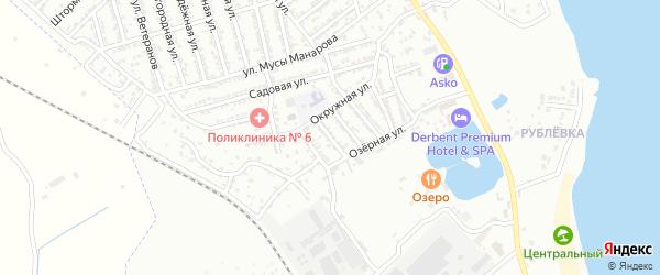 Улица 5 Линия на карте Дербента с номерами домов