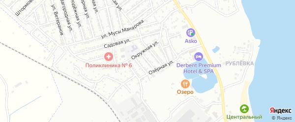 Улица 4 Линия на карте Дербента с номерами домов