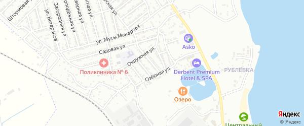 Улица 3 Линия на карте Дербента с номерами домов
