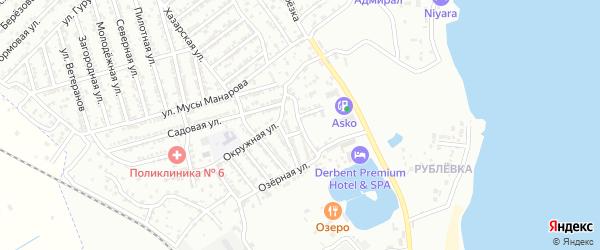 Улица 1 Линия на карте Дербента с номерами домов