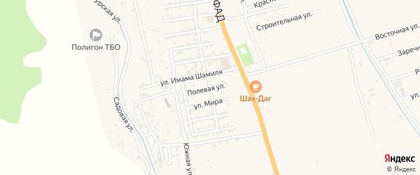 Улица Ирчи-Казака на карте Дербента с номерами домов