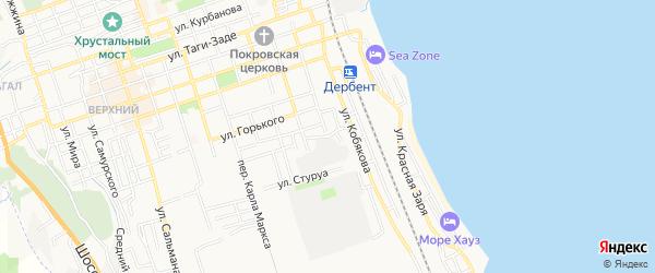 Территория Агроферма Давыдовой на карте Дербента с номерами домов