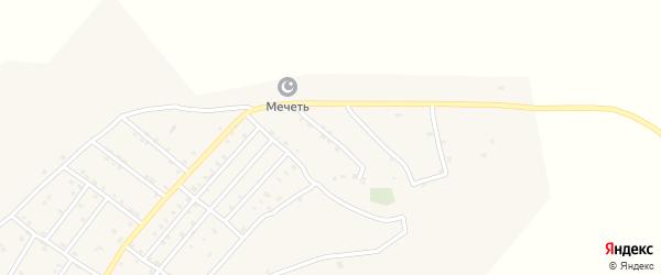 Кавказская улица на карте села Целягюна с номерами домов