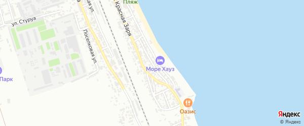 Улица И.Маскина на карте Дербента с номерами домов