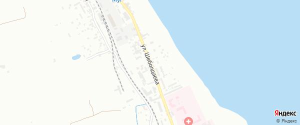 Улица Шеболдаева на карте Дербента с номерами домов