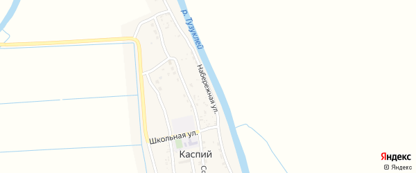Набережная улица на карте Каспия поселка с номерами домов