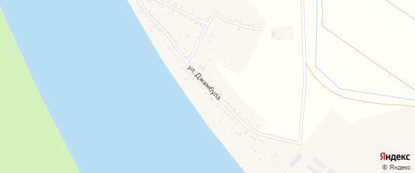 Улица Джамбула на карте села Черемухи с номерами домов