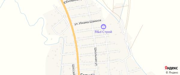 Улица Гаджи Давуда на карте села Гапцаха с номерами домов