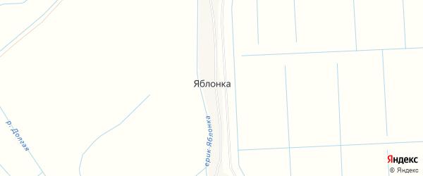 Карта села Яблонка в Астраханской области с улицами и номерами домов