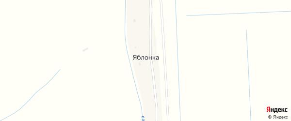 Школьная улица на карте села Яблонка с номерами домов