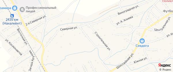 Набережная улица на карте села Мичурино с номерами домов