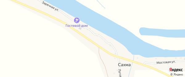 Мостовая улица на карте села Сахма с номерами домов