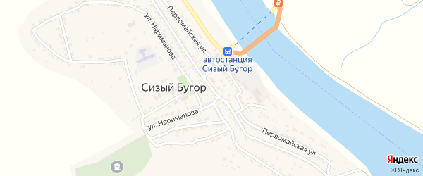 Советская улица на карте села Тумака с номерами домов