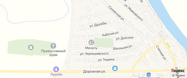 Улица Долгино на карте Володарского поселка с номерами домов
