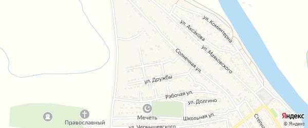 Улица В.Высоцкого на карте Володарского поселка с номерами домов