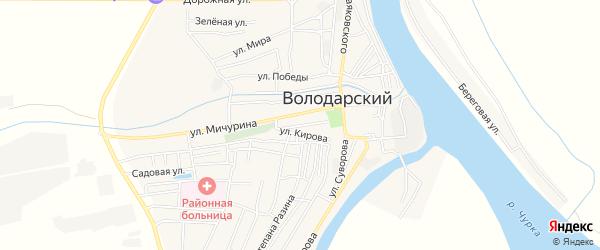 СТ сдт Володаровец на карте Советской улицы с номерами домов