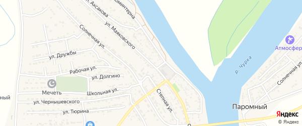 Улица Маяковского на карте Володарского поселка с номерами домов