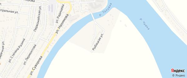 Улица Куйбышева на карте Володарского поселка с номерами домов