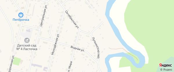 ГСК 10 на карте поселка Урдома с номерами домов