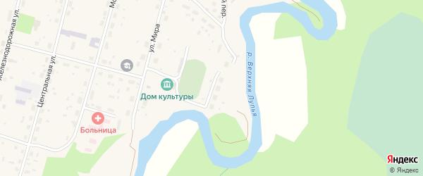 Спортивная улица на карте поселка Урдома с номерами домов