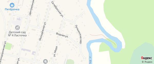 ГСК 1 на карте поселка Урдома с номерами домов