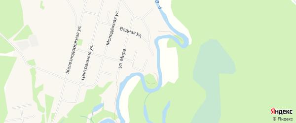 ГСК N10 на карте Спортивной улицы с номерами домов